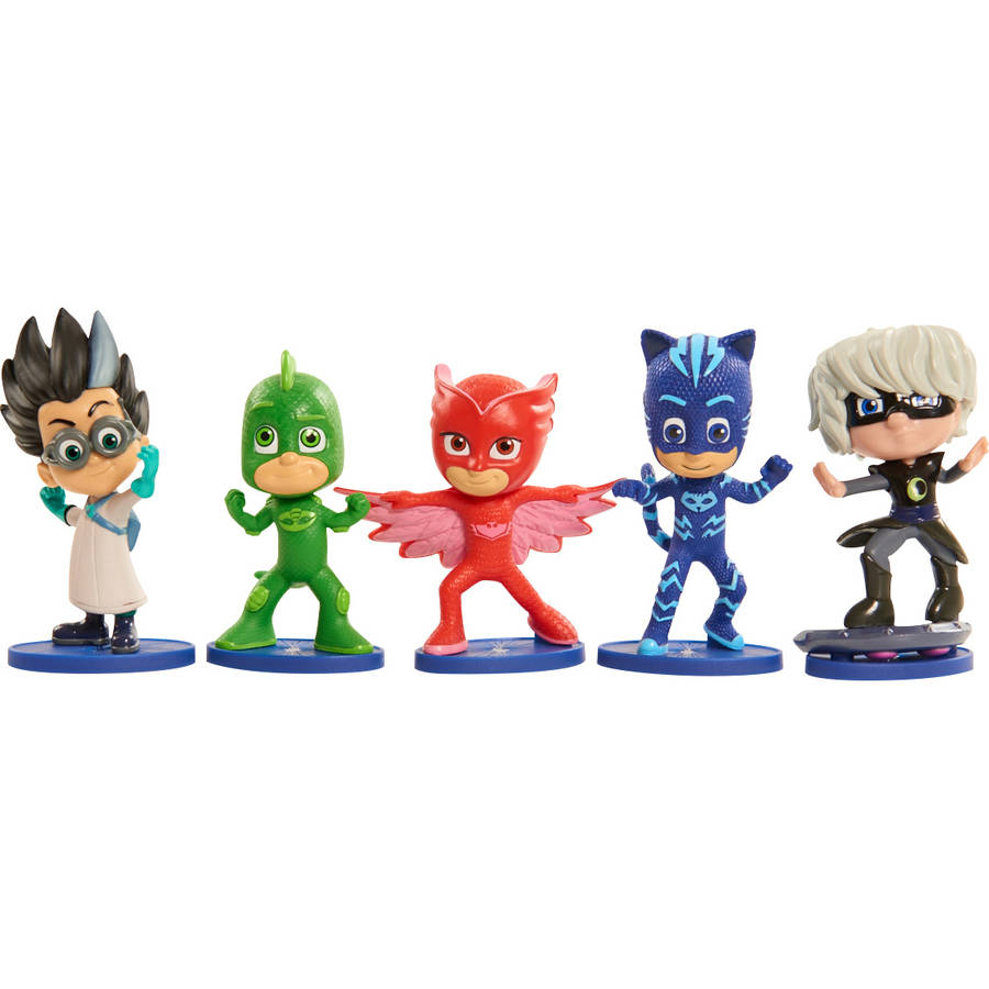 PJ Masks Figure, 5 Pack