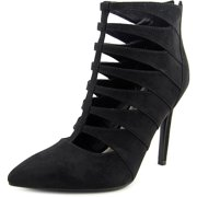G By Guess Darrah Women  Pointed Toe Canvas Black Heels