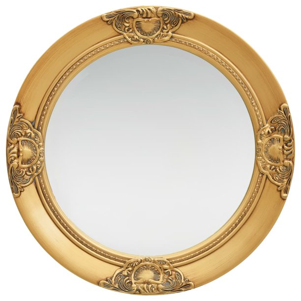 Wall Mirror Baroque Style 19 7 Gold, Baroque Style Gold Mirror