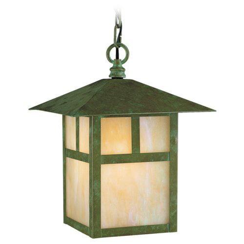 Livex Montclair Mission 2141-16 Outdoor Hanging Lantern - 13H in. Verde Patina