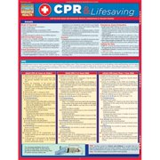 BarCharts 9781423218616 CPR & Lifesaving Quickstudy Easel