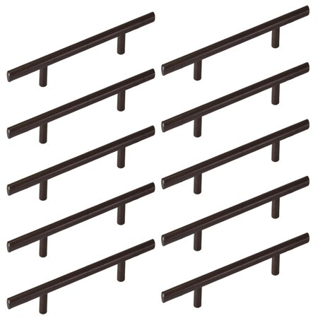 Overall Length Oil - 10 Pack of Euro Bar Pull Handles 6