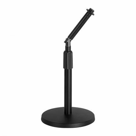 On-Stage DS8200 Adjustable Desktop Rocker-Lug Mic Stand (Desktop Microphone Stand)