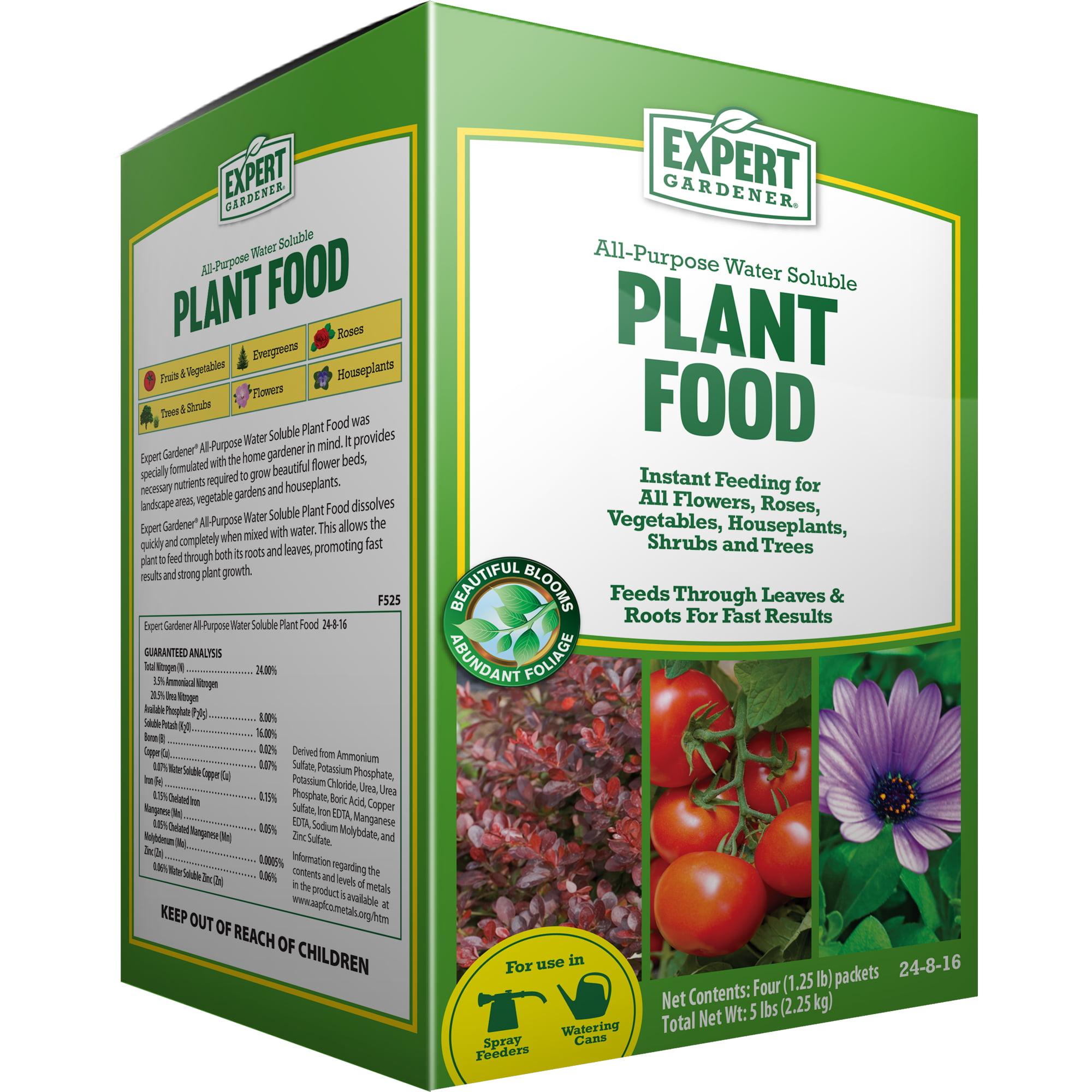 Expert Gardener All-Purpose Water Soluble Plant Food, 24-8-16, 5 lbs.