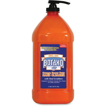 Dial, DIA06058, Boraxo Orange Heavy Duty Hand Cleaner, 1 Each, Orange, 101.4 fl oz (3 L)
