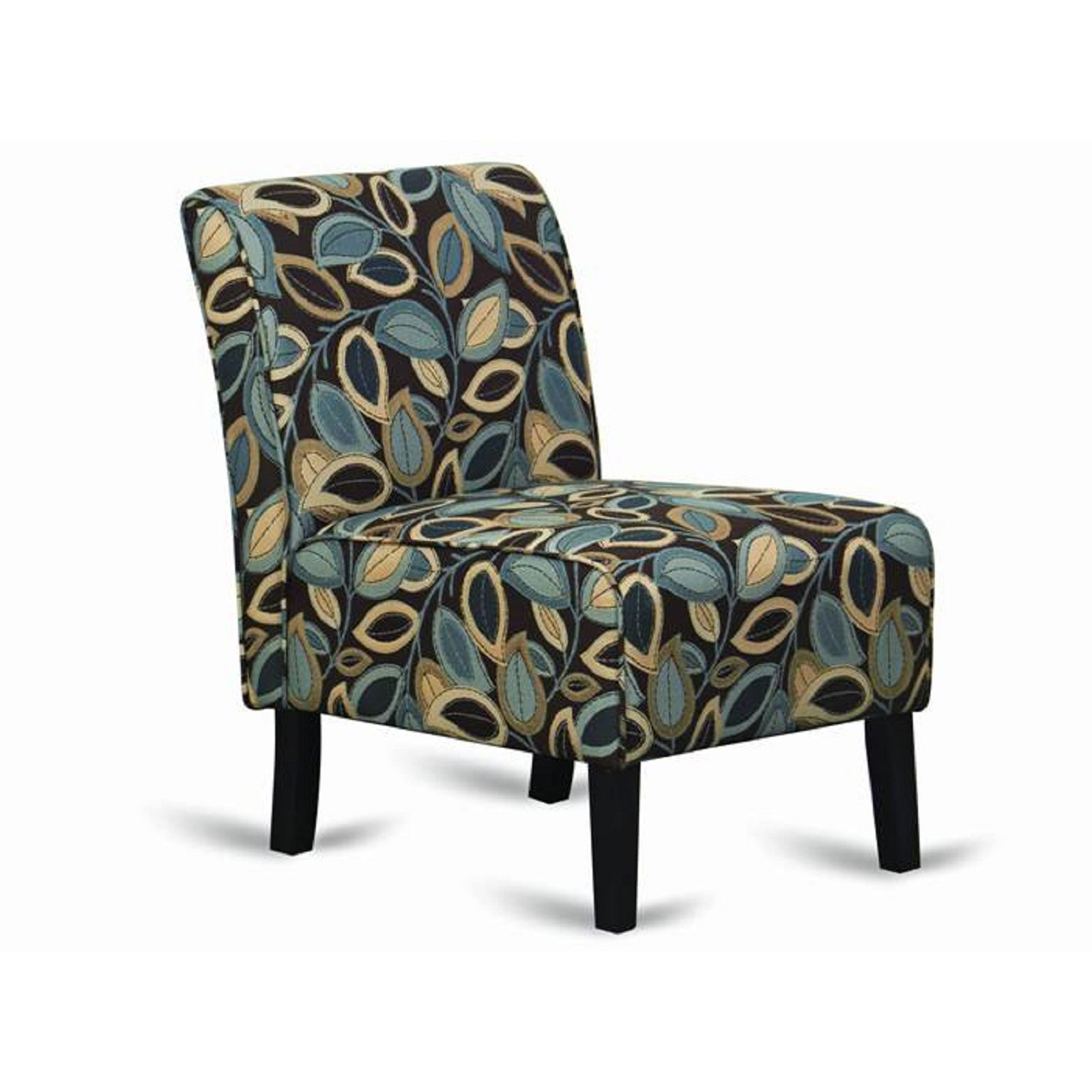 Hodedah Imports Armless Accent Chair