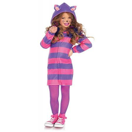 Leg Avenue Girl's Cheshire Cat Cozy (Children's Cheshire Cat Costume)
