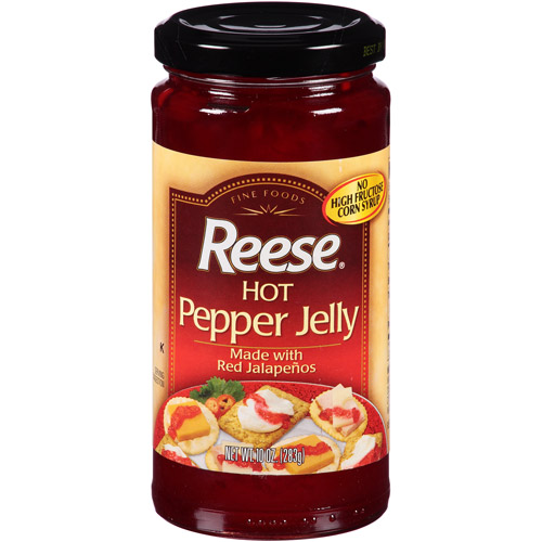 Reese Hot Pepper Jelly, 10 oz, (Pack of 6)
