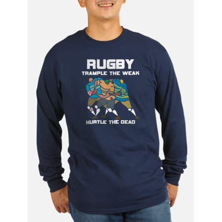 CafePress - Trample The Weak Rugby - Long Sleeve Dark T-Shirt