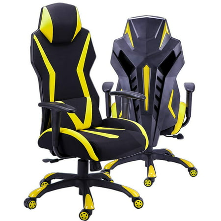 Ergonomic Chair Gaming Office Back Support For Video With Adjule Armrest Home