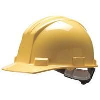 BULLARD Hard Hat,4 pt. Pinlock,Ylw 62YLP
