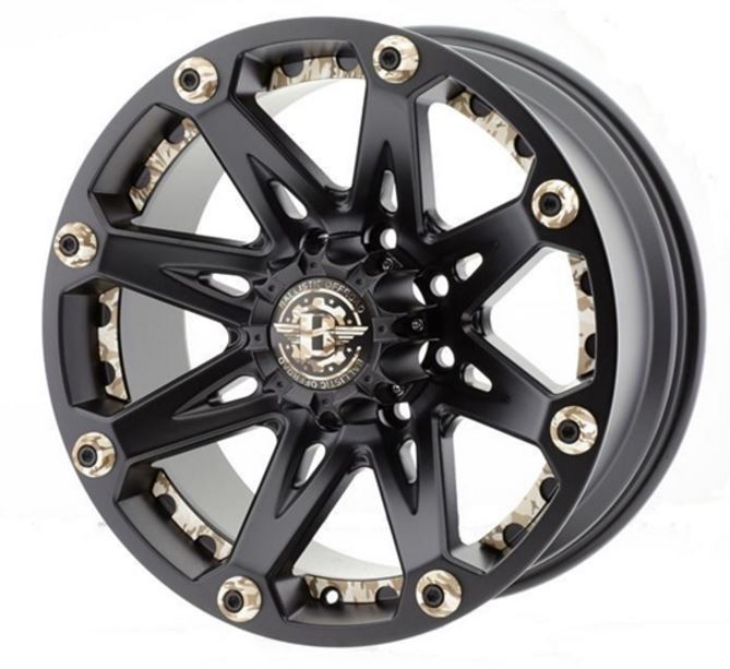 Ballistic Wheels 814890655-12FB-CM Wheel 814 Jester  - image 1 de 1