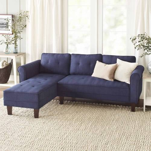 Image of 10 Spring Street Ashton Microfiber Sectional