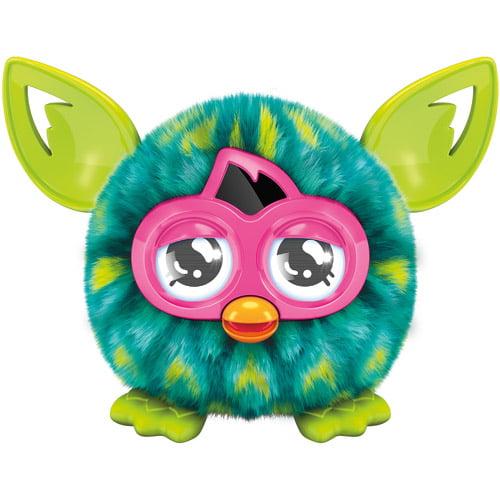 Furby Furblings Peacock Feather Figure [Green & Yellow] by Hasbro