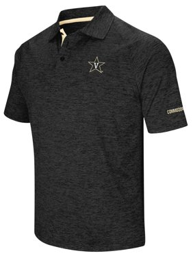 "Vanderbilt Commodores NCAA ""Down Swing"" Men's Performance Polo Shirt"