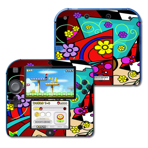 Mightyskins Protective Vinyl Skin Decal Cover for Nintendo 2DS wrap sticker skins Eye Candy