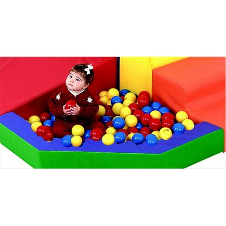Childrens Factory Mixed Color Balls - 2.75 in. - Case 500 (Plastic Balls For Sale)
