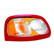 GT STYLING 962566 Head Light Cover, Clear