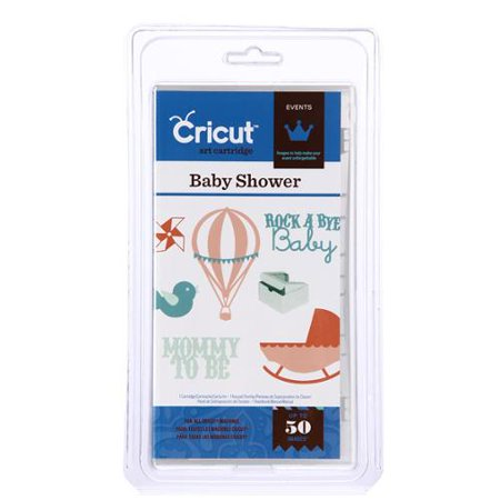 Cricut Events Baby Shower Cartridge Walmart