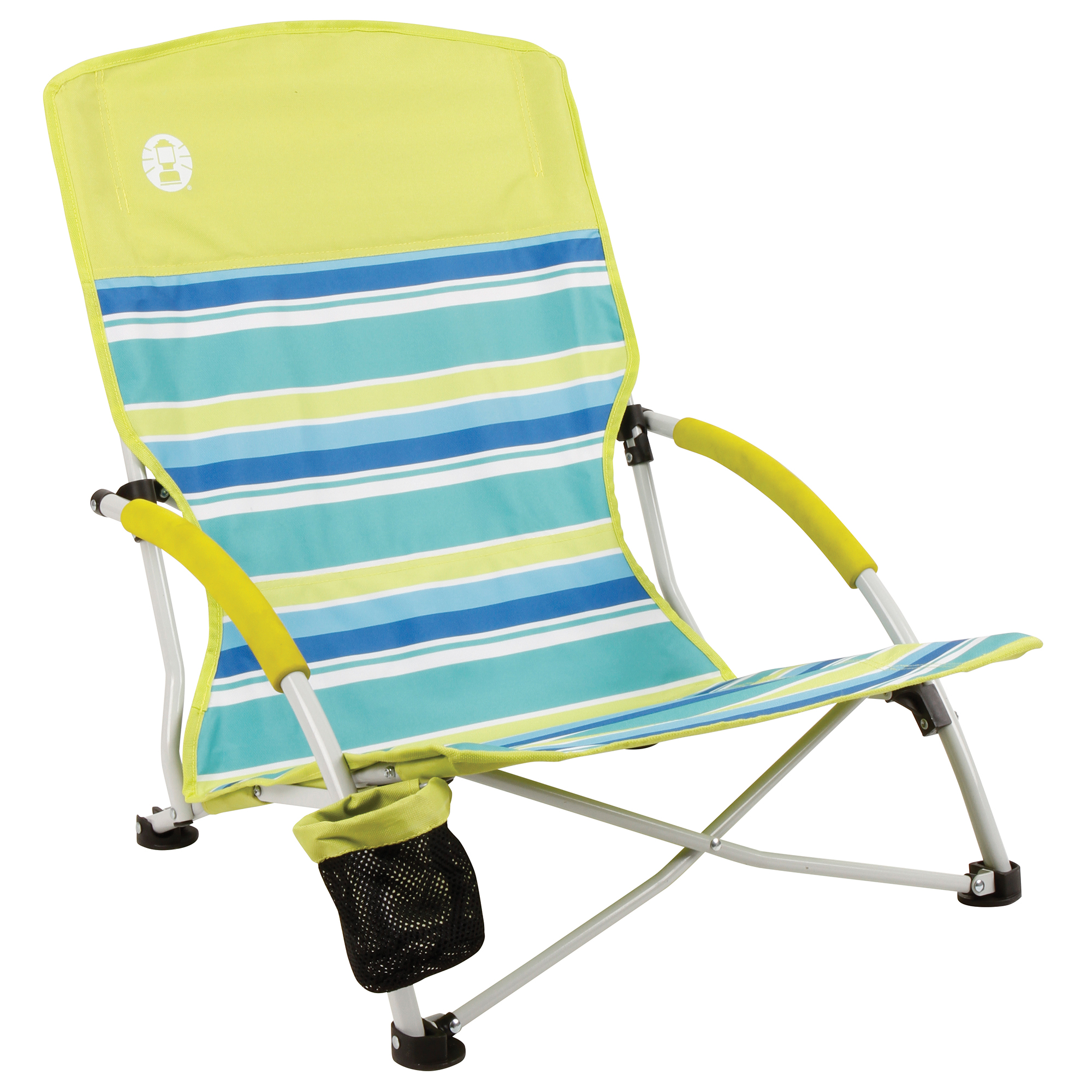Incroyable Coleman 2000019265 Chair Low Sling Beach Citrus