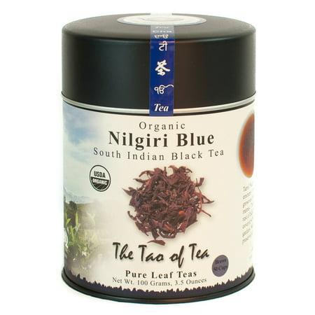 The Tao of Tea, Organic Nilgiri Blue Tea, Loose Leaf Tea, 3.5 Oz Tin