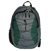 K-Cliffs Backpack With 3 Compartment & 1 CD Pouch - 18. 5 x 12 x 9 inch Navy & Grey