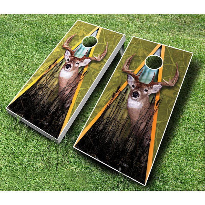 Deer Tournament Cornhole Set by AJJ Cornhole