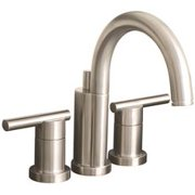 Premier Essen Mini-Widespread Lavatory Faucet With Lever Handles And Brass Pop-Up, 1.2 Gpm, Brushed Nickel, Lead Free*
