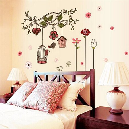Meigar Removable Tree Wall Stickers Diy Wall Decals For Kids Children Girls Boys Room Decor Christmas Gift