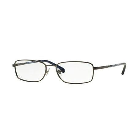 bcf884058ba4 BROOKS BROTHERS Eyeglasses BB 1036 1221 Dark Gunmetal 55MM - Walmart.com