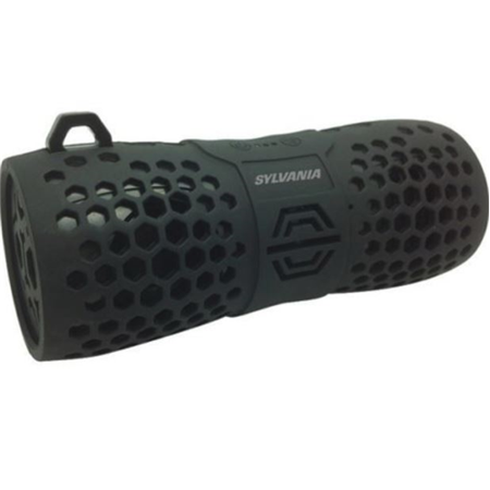SYLVANIA SP353 Portable Rugged Bluetooth Speaker Black/Gray - Manufacturer