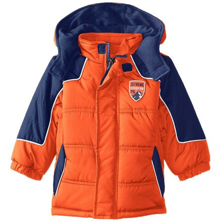 iXtreme Toddler Boy Expedition Hooded Winter Puffer Jacket Coat