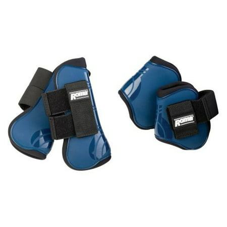 Roma Competitor Open Front/Fetlock Boot Set - Roma Open Front