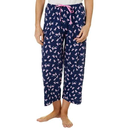 Hue Womens Beach Chair Capri Pajama Pants Review Mercury Capri