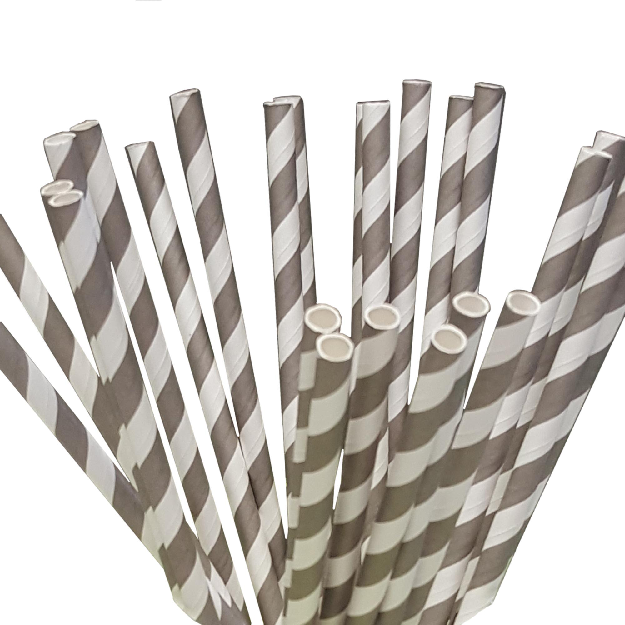 Sets of 100 Paper Straws Great for Birthday Wedding Baby Shower Party etc.