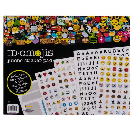 1000+ ID Emoji Faces Icon Sticker Book Pad Letters Numbers Kids Adults Teachers](Adult Sticker Book)