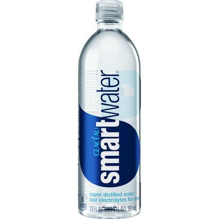 Distilled Rosewater ((3 Pack) Smartwater Vapor Distilled Water, 20 Fl Oz, 1 Count )