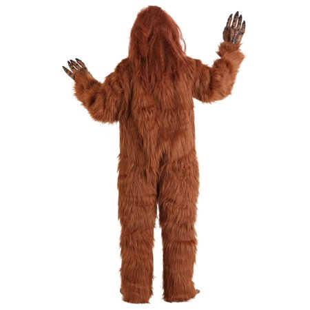 Plus Size Bigfoot Costume (Cheap Bigfoot Costume)