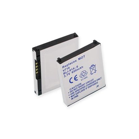 Motorola E815 Cell Phone Battery (Li-Ion 3.7V 600mAh) - Replacement For Motorola V710 Cellphone Battery