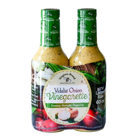Virginia Brand Vidalia Onion Vinaigrette (30 Ounce ea., 2 (Paula Deen Vidalia Onion Poppy Seed Dressing)
