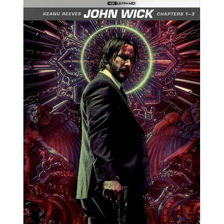 John Wick: Chapters 1-3 (4K Ultra HD + Digital Copy)