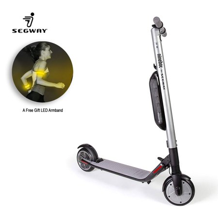 Ninebot Segway - ES4 KickScooter High-Performance 800W Foldable Electric Scooter - 28 Mile Range, 18.6 mph Top Speed,  Bluetooth Connectivity, Mobile APP cruise control, with a LED