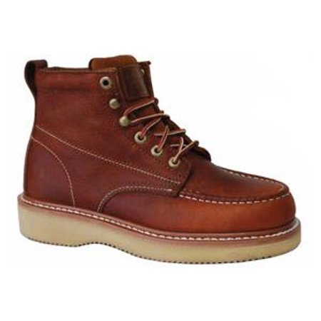 Copper Footwear (Work Zone Men's N634 Dark Brown 6