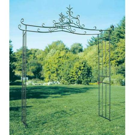 Achla Designs Arbor (Achla Designs Chippendale 11-ft. Iron Pergola Arbor )