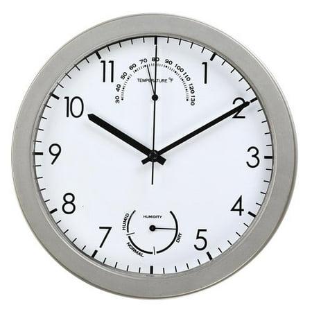 Mainstays 8 75 Quot Wall Clock Walmart Com