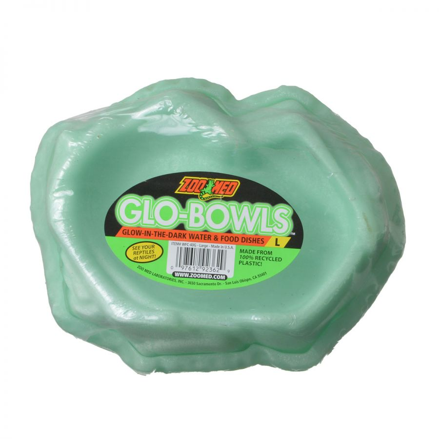 Zoo Med Glo-Bowls Reptile Combo Dishes Large - Pack of 2