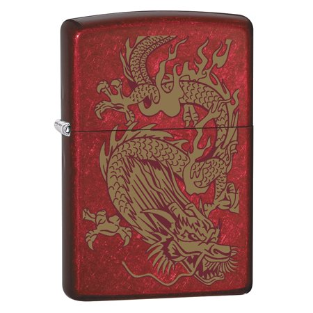 Zippo Candy Apple (Zippo Lighter: Golden Dragon - Candy Apple Red 79095 )