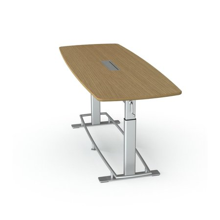 Focal Upright Confluence Table Adjustable Height Standing - Standing height meeting table