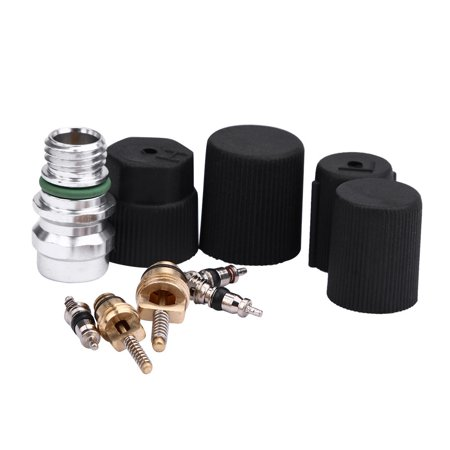 - AC A/C System Cap & Valve Cores Santech Rapid Seal Kit Air Conditioning Service