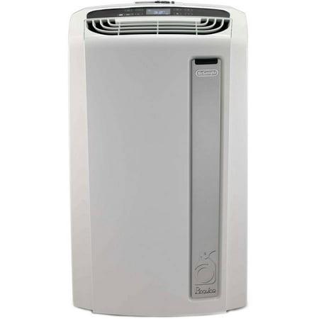 DeLonghi PAC-AN120EW Pinguino 12,000 BTU Whisper Quiet Portable Air Conditioner with BioSilver Air Filter, White